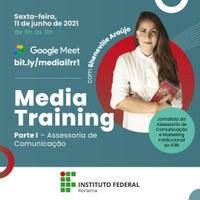 COMUNICAÇÃO – Ascom realiza treinamento de mídia para gestores do IFRR