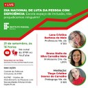 Dia Nacional de Luta da Pessoa com Deficiência terá  live do IFRR para discutir políticas públicas de inclusão