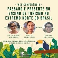 DIA NACIONAL DO TURISMO – IFRR promove webconferência no dia 7 de maio