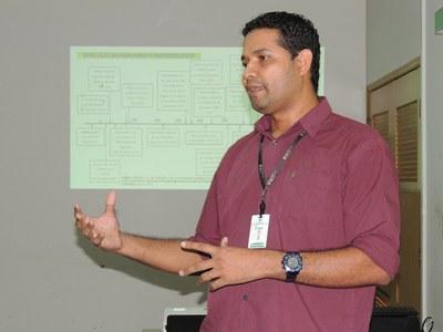 Professor Wilson Alves ministrou a oficina