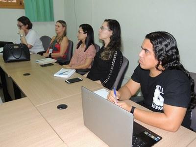 Servidores da reitoria participam de oficina