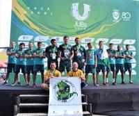 Equipe de futsal do IFRR participa da etapa nacional dos Jogos Universitários Brasileiros