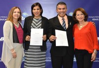 Reitores do IFRR e do IFNMG tomam posse em Brasília
